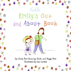 Emily's Out and About Book illustrated by Leo Landry