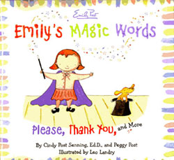 Emily's Magic Words illustrated by Leo Landry